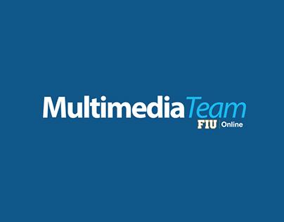 Logos for FIU Online