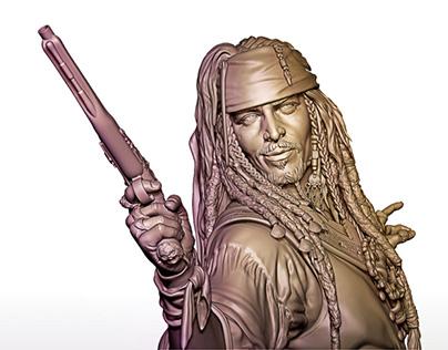 Wip - Jack Sparrow