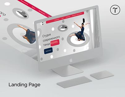 Website   Concept for Dance Studio