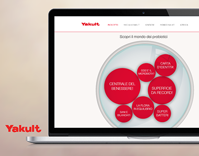 Yakult | Digital activation - Probiotics project