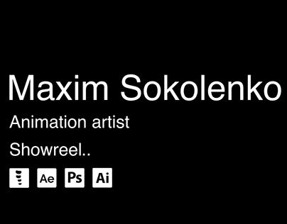 Animation showreel - Maxim Sokolenko