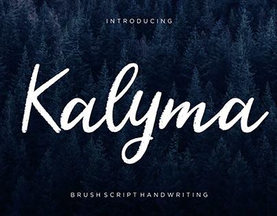 Kalyma Script Font