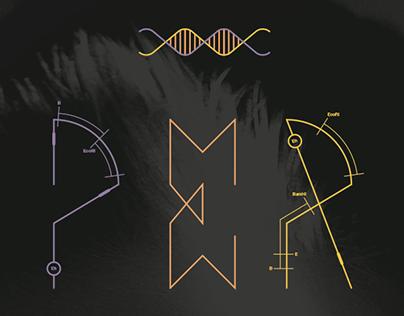 DNA font for Vogue Japan