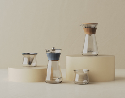 OPTICAL pour-over coffee set