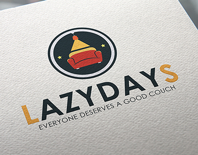 LazyDays Couch/Furniture Logo