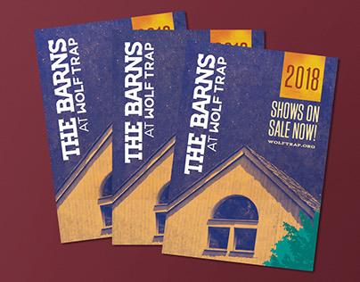 2018 Spring Barns Brochure