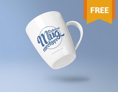 2 Free Coffee Mug Mockup PSD's