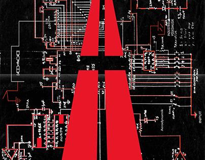 Kraftwerk Poster : Die Zukunft Tour 2022