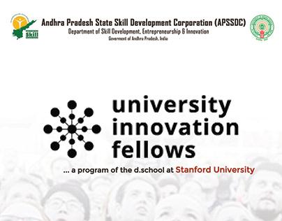 APSSDC UIF Success Meet Brochure Design