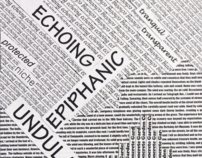 Word Collage: The Urban Experience
