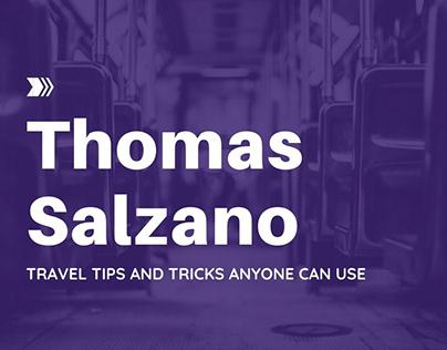 Thomas Salzano - Travel Tips and Tricks Anyone Can Use