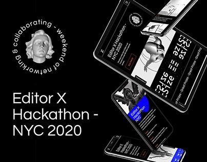 Editor x - Hackathon
