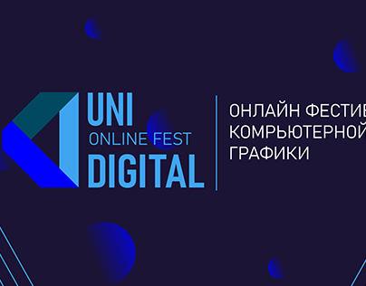 Uni Digital Online Fest   Online Event