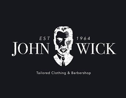John Wick's Clothing & Barbershop | Logo Design