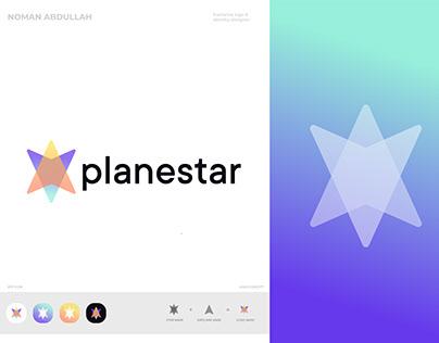 PlaneStar | Modern Travel Logo And Branding