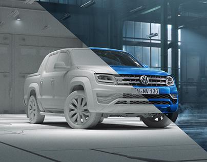 VW Amarok Making of