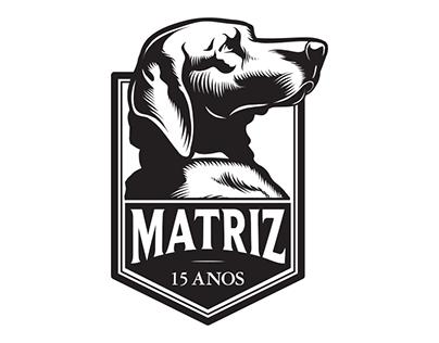 Matriz SkateShop // 15 Years Logo