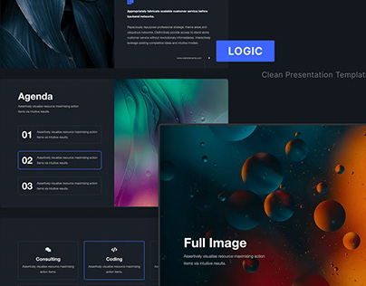 LOGIC - Clean Presentation Templates