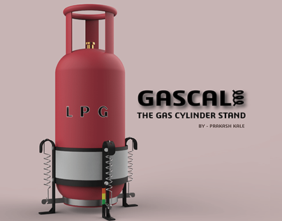 GASCALE | LPG CYLINDER STAND | PATENT PUBLISHED