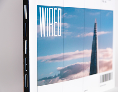 Wired Magazine: Cover redesign