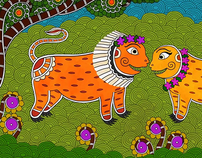 Folktales of India - The Lion's Wedding - Animation