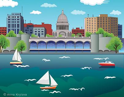 Madison Wisconsin motion graphics
