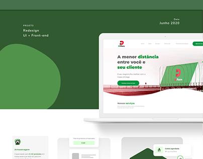 Novo site Di Pietro Transportadora