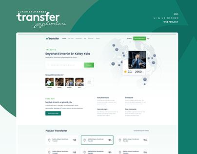 Vip Transfer Premium UI & UX Design