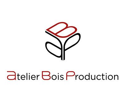 Atelier Bois Production Logo branding