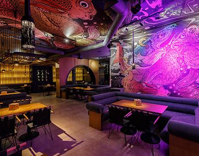 дизайн ресторана Е-суши
