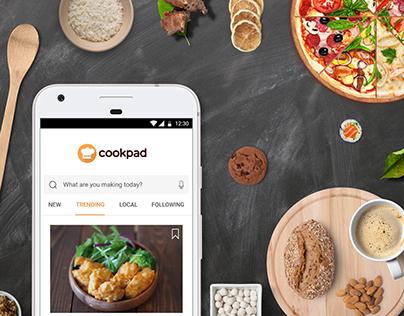 Cookpad International Redesign