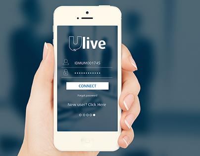 Ulive - Mobile App