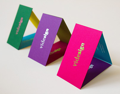 Hello Spring! Business card design