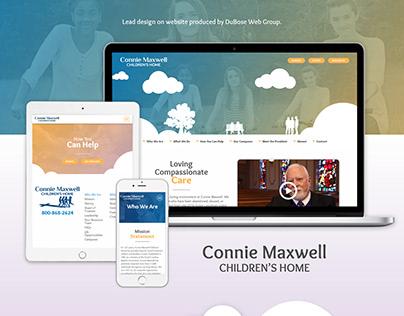 Connie Maxwell Children's Home Website Design