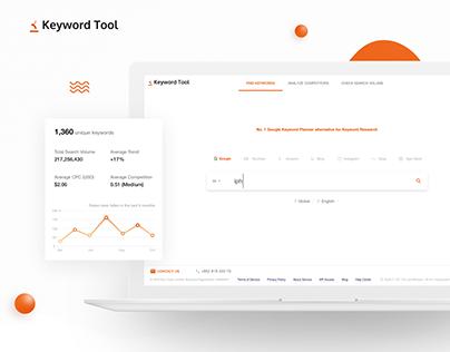 Keyword Tool Redesign