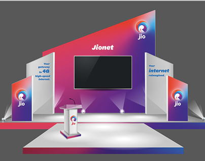 Jionet Wifi Event Design 2015 - Park Street, Kolkata