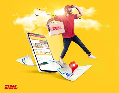 DHL Social media ad