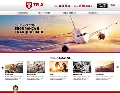Tela Seguros - Website