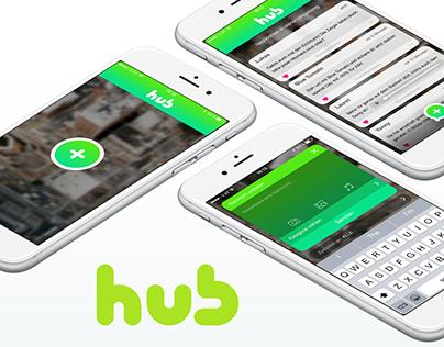 hub App Concept