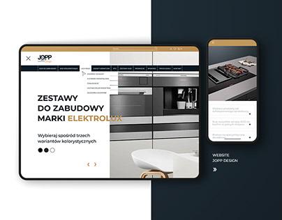 WEBSITE JOPP DESIGN