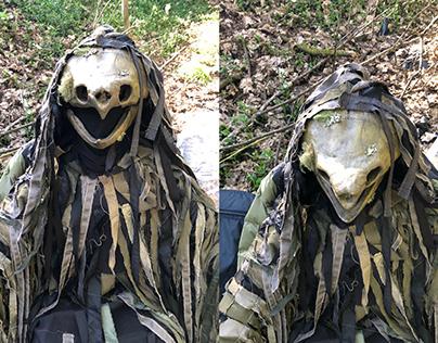 The Creature - Skull build process