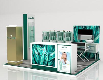 Nuxe Aquabella Booth CFC