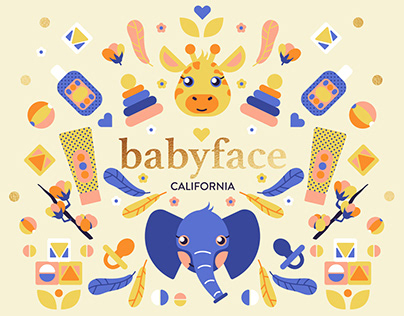 Babyface branding and packaging