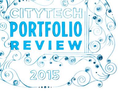 CityTech Portfolio Review 2015 postcard