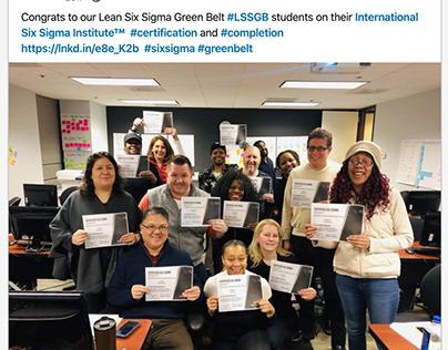 Six Sigma Institute Success Story