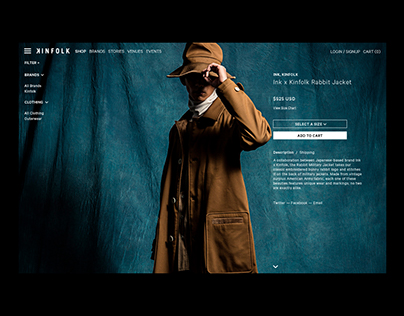 Kinfolk - Online Store