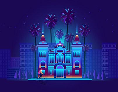 City illustration 02.