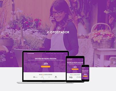 Website, Blog, LandingPage, APP, CMS - O Postador