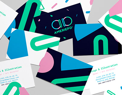 AmeriePop Personal Branding Identity & Website