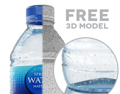 Water Bottle   Free Model